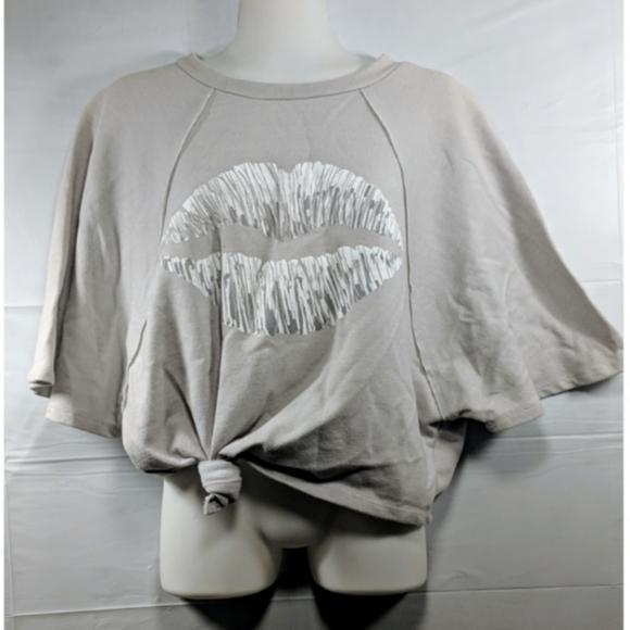 Derek Heart Pullover Dolman Sleeve Comfy Printed Hoodies Sweatshirts